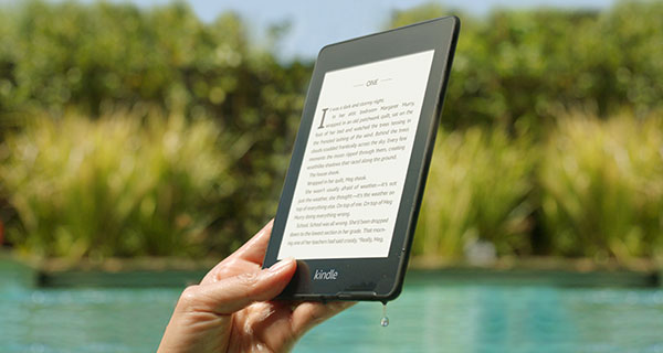 New waterproof Kindle Paperwhite makes a splash