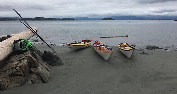 Five days kayaking in B.C.'s Broken Group Islands