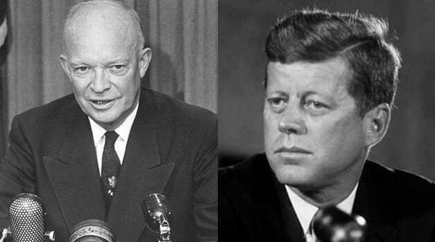 Eisenhower diplomacy versus Kennedy aggression