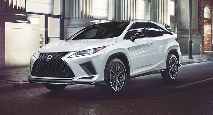 Lexus RX 450h offers comfort in a hybrid package
